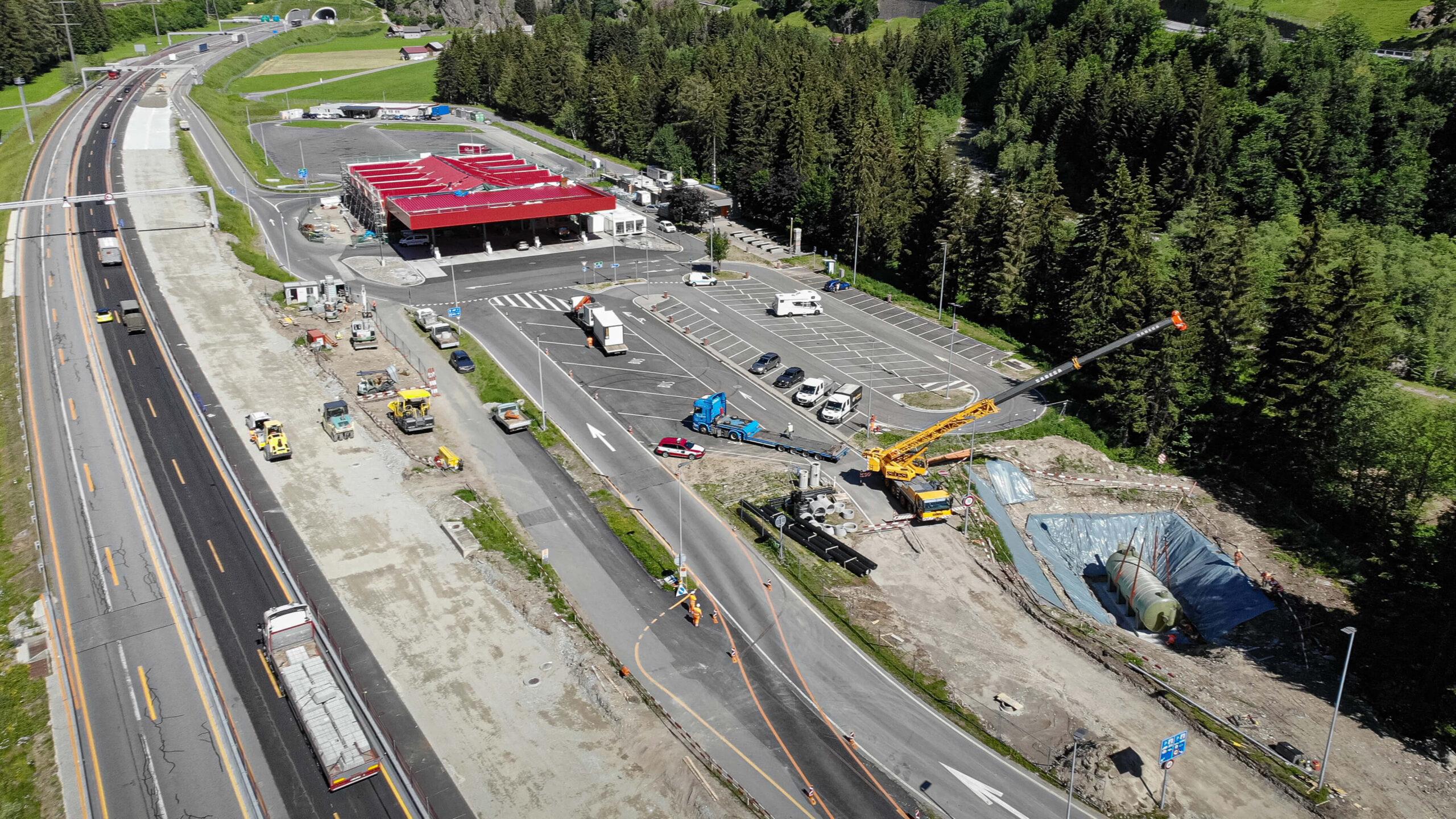 Autostrade più pulite con i separatori lamellari